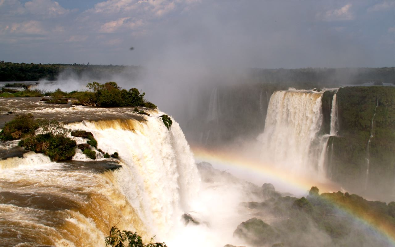 Iguazu Falls with the Marriage Experts